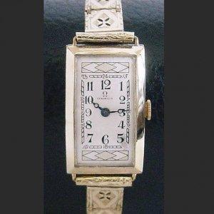 OMEGA  1930年代 オメガのアールデコ レディースアンティーク時計