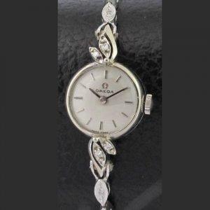 ダイヤブレスのオメガの時計