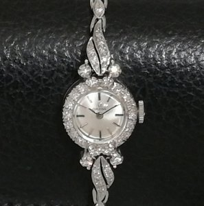 オメガ ダイヤブレス レディースアンティーク腕時計