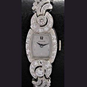 ハミルトン ダイヤブレス・ウオッチ レディースアンティーク腕時計