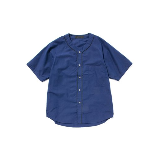 <img class='new_mark_img1' src='http://toff-shop.jp/img/new/icons8.gif' style='border:none;display:inline;margin:0px;padding:0px;width:auto;' />BLACK & BLUE Washed Baseball Shirt