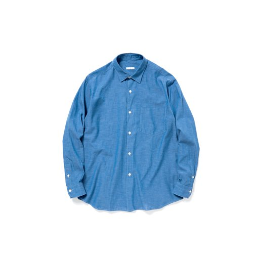 <img class='new_mark_img1' src='http://toff-shop.jp/img/new/icons8.gif' style='border:none;display:inline;margin:0px;padding:0px;width:auto;' />COMOLI Chambray Shirt