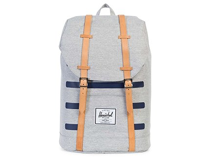 OFFSET COLLECTION / RETREAT BACKPACK - Light Grey