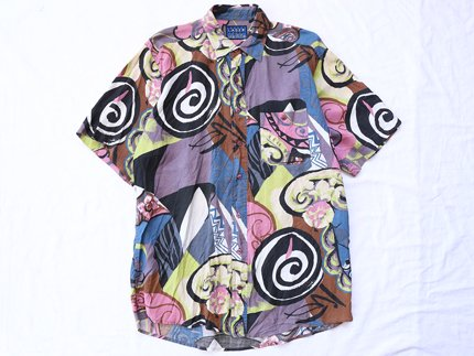 USED / [LASER] PATTERN S/S SHIRT - Multi