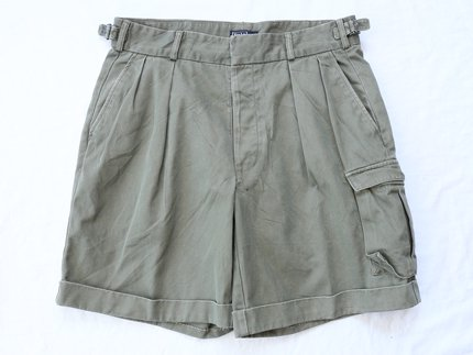USED / [Polo by Ralph Lauren] TWO TACK CARGO SHORTS - Olive