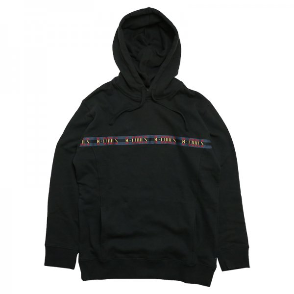 B.QUICK TAPED HOOD SWEATSHIRT - Black