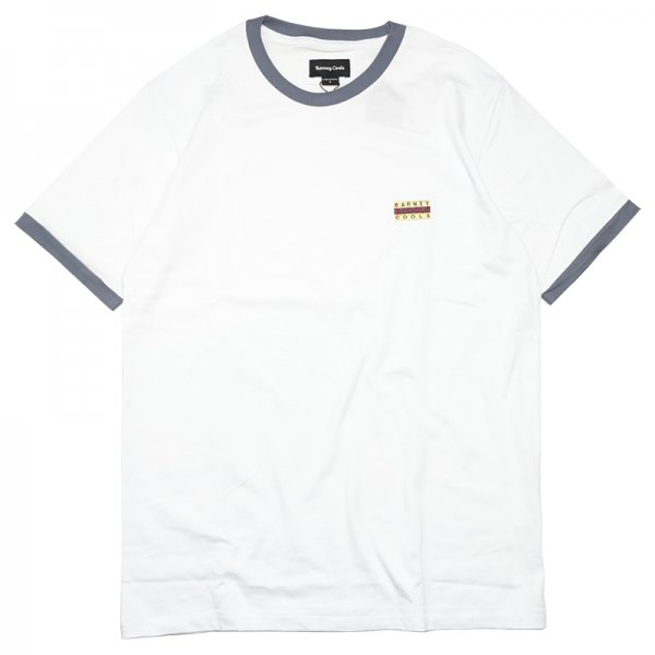 FLAG RINGER TEE - White