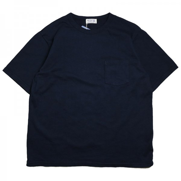 HEAVY OZ POCKET BIG TEE - Navy<img class='new_mark_img2' src='https://img.shop-pro.jp/img/new/icons56.gif' style='border:none;display:inline;margin:0px;padding:0px;width:auto;' />
