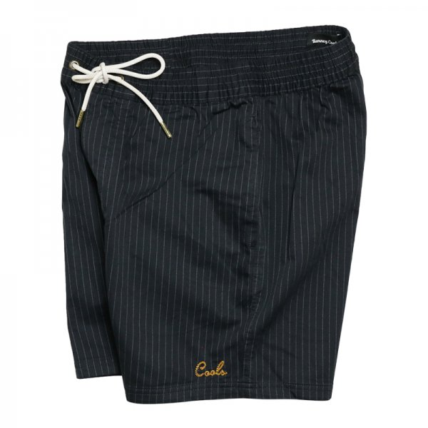 POOLSIDE SHORTS - Black Stripe