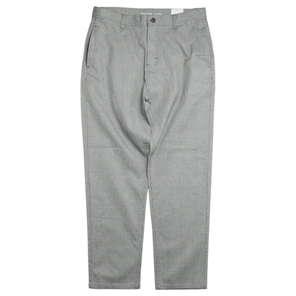 B.BOXY CHINO PANT - Grey Check
