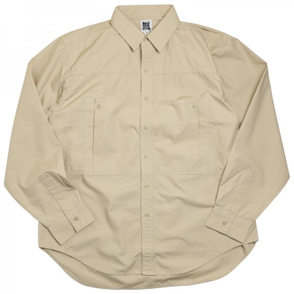 DEPTH POCKET SHIRTS - Beige