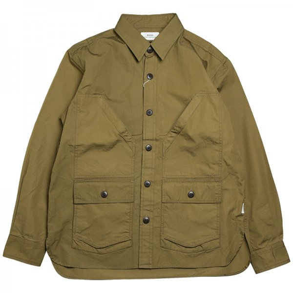 VENTILE WORK SHIRT JACKET - Brown
