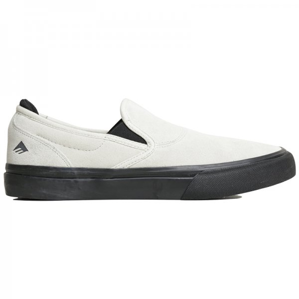WINO G6 SLIP-ON SKATE VAN - White/Black