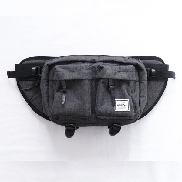 Eighteen Hip Pack - Black Crosshatch