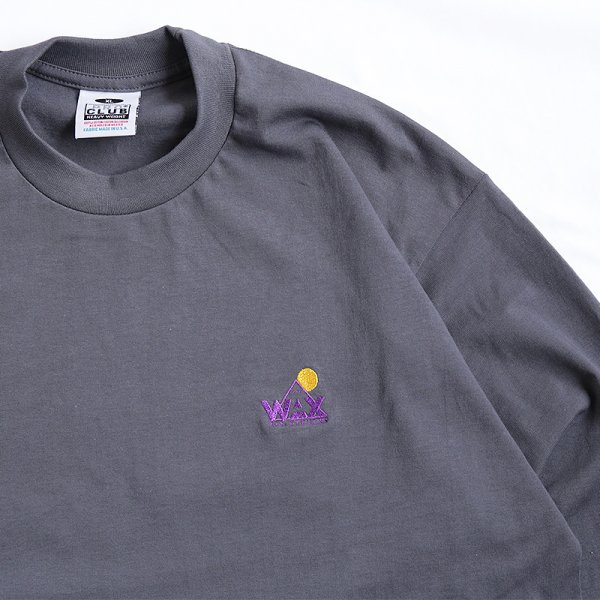 WAX LOGO L/S T-SHIRT