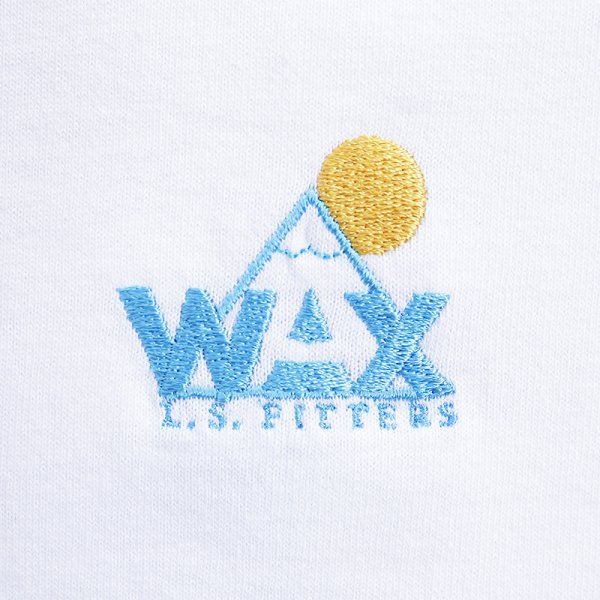 WAX LOGO S/S T-SHIRT - Otsuitachi Blue