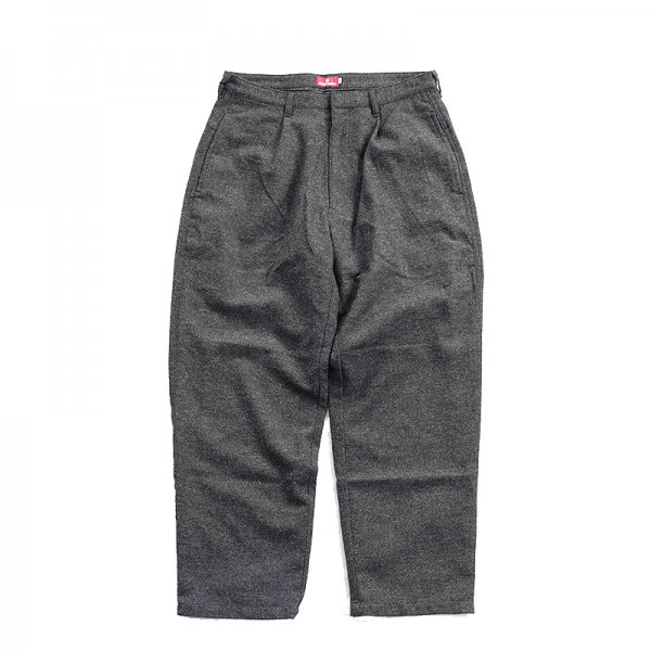 WOOL TROUSERS - Anthracite
