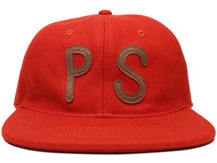 PS WOOL HAT - Burnt Orange