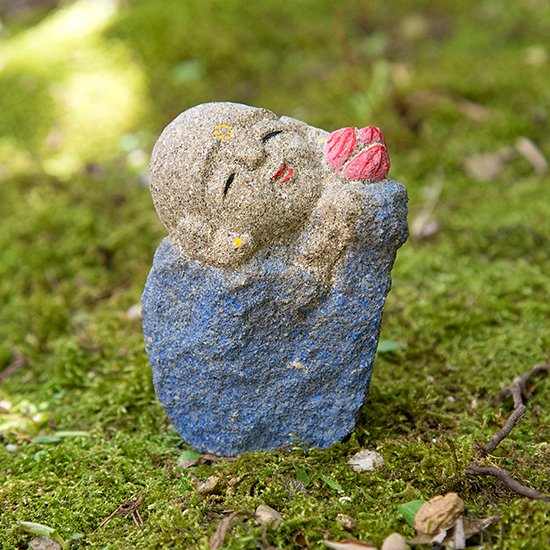 三わらべ地蔵 (蓮) / three child jizo (lotus)