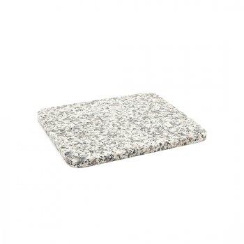 天然石モダンプレート(白)/白御影石