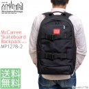 Manhattan Portage マンハッタンポーテージ スケボー リュック McCarren Skateboard Backpack Ver.2 MP1278 日本限定モデル<img class='new_mark_img2' src='//img.shop-pro.jp/img/new/icons15.gif' style='border:none;display:inline;margin:0px;padding:0px;width:auto;' />