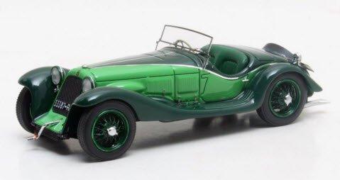 MATRIX MX51311-011 1/43 マセラティ V4 スポーツ ザガート 1929 グリーン