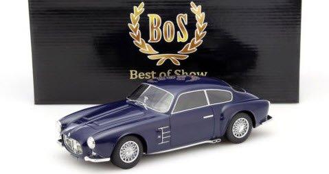 BoS Models BOS115 1/18 マセラティ A6G 2000 ザガート ダークブルー