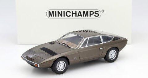 ミニチャンプス 107123820 1/18 マセラティ KHAMSIN 1977 ブラウンメタリック