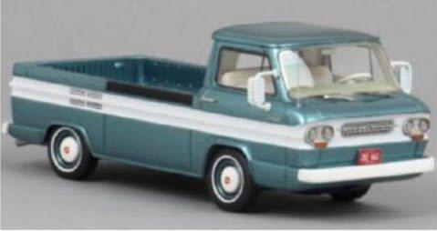 NEO NEO46526 1/43 シボレー コルベア ピックアップトラック ターコイズ/ホワイト
