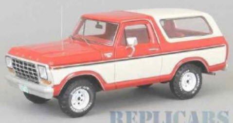NEO NEO46910 1/43 フォード ブロンコ 1979 レッド/ホワイト