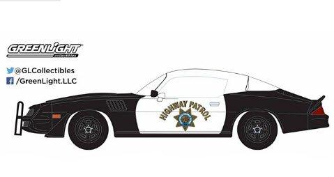 GREENLIGHT 12964 1/18 1979 Chevy Camaro Z/28 - California Highway Patrol (Hardtop)