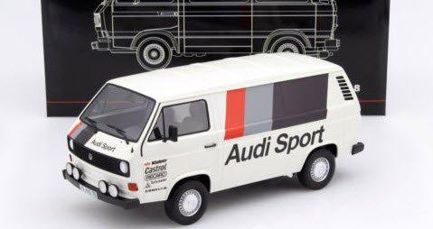プレミアムクラシックス PCS30021 1/18 VW T3a Kasten `Audi Sport` 1980