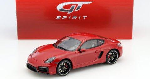 GTスピリット GTS112 1/18 ポルシェ ケイマン GTS (レッド)