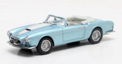 MATRIX MXLM02-1311 1/43 マセラティ A6G 2000 フルア スパイダー 1956 メタリックブルー