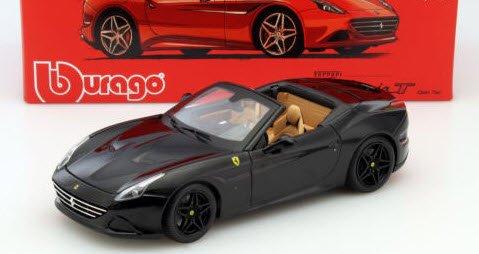 ブラーゴ Bburago Signature 15616904BK 1/18 フェラーリ カリフォルニア T オープントップ ブラック