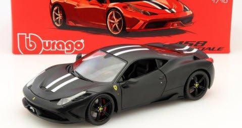 ブラーゴ Bburago Signature 15616903BK 1/18 フェラーリ 458 Speciale ブラック