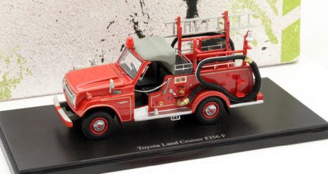 AUTOCULT オートカルト 12003 1/43 Toyota Land Cruiser FJ56 fire Department 1976 レッド