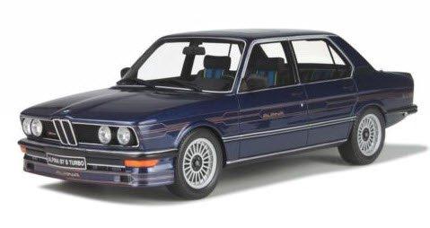 OTTO オットー OTM640 1/18 BMW アルピナ B7 S ターボ (E12) (ダークブルー)