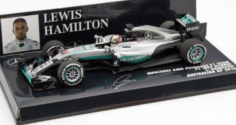 Mercedes AMG F1 W07  Lewis Hamilton  Formel 1 Australien 2016  1:43 Minichamps