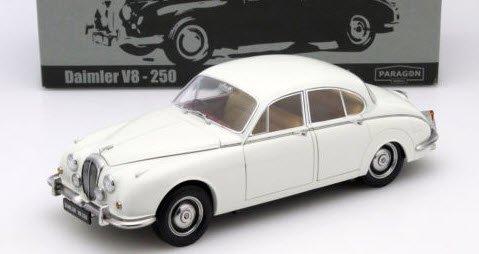 パラゴン  PA-98313R 1/18 ダイムラー 250 V8 1967 イングリッシュホワイト RHD