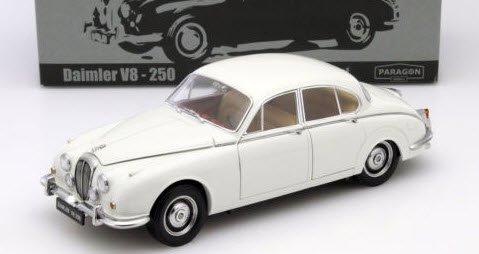 パラゴン  PA-98313L 1/18 ダイムラー 250 V8 1967 イングリッシュホワイト LHD