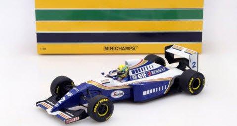 ミニチャンプス 540941802 1/18 ウイリアムズ ルノー FW16 (No.2/1994) セナ