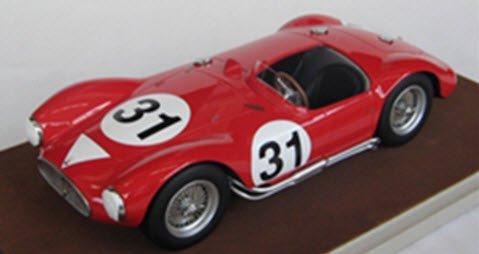 テクノモデル TM18-44D 1/18 マセラティ A6 GCS ル・マン 1955 #31 De Giardini/Tomasi