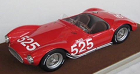 テクノモデル TM18-44E 1/18 マセラティ A6 GCS ミッレミリア 1953 #525 Giletti/Bertocchi