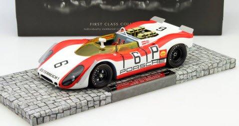 ミニチャンプス 107692006 1/18 ポルシェ 908/02 スパイダー LINS/ATTWOOD 1000KM ニュルブルクリング 1969