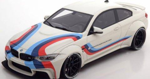 GTスピリット ZM067 1/18 BMW M4 LB パフォーマンス ホワイト 特注品