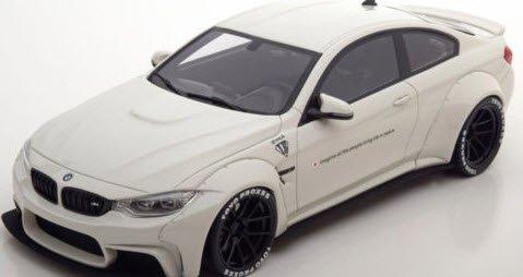 GTスピリット ZM066 1/18 BMW M4 LB ホワイト 特注品