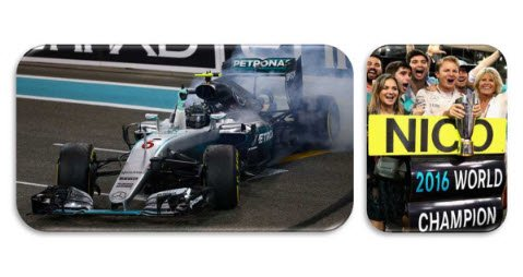 スパーク S18S250 1/18 メルセデス F1 W07 Hybrid No.6 2nd アブダビ GP 2016 Nico Rosberg - World Champion 20…