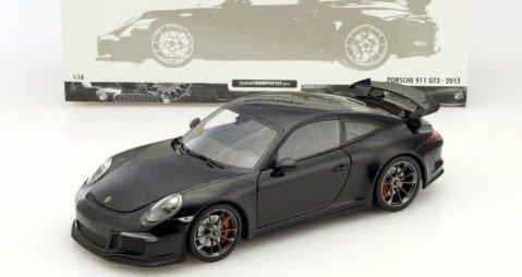 ミニチャンプス 110062724 1/18 ポルシェ 911 GT3 (991) 2013 ブラックメタリック