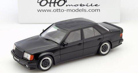 OTTO オットー OTM638 1/18 メルセデス ベンツ W124 300E 5.6 AMG(ブラック)